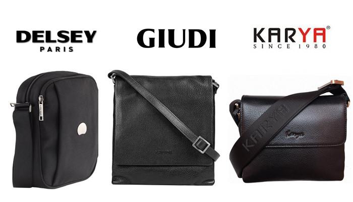 Модные мужские сумки на плечо