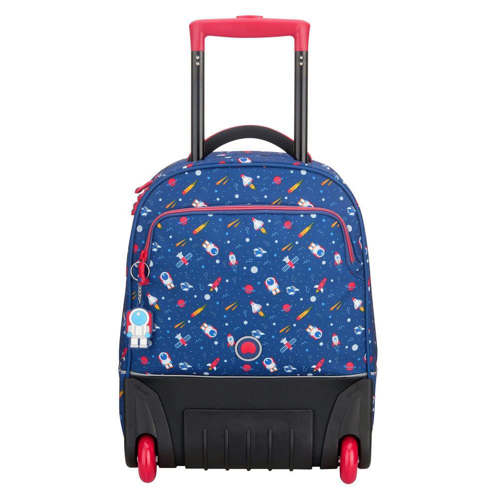 f609af70dee9 Школьный рюкзак вертикальный на колесах Delsey 3393650