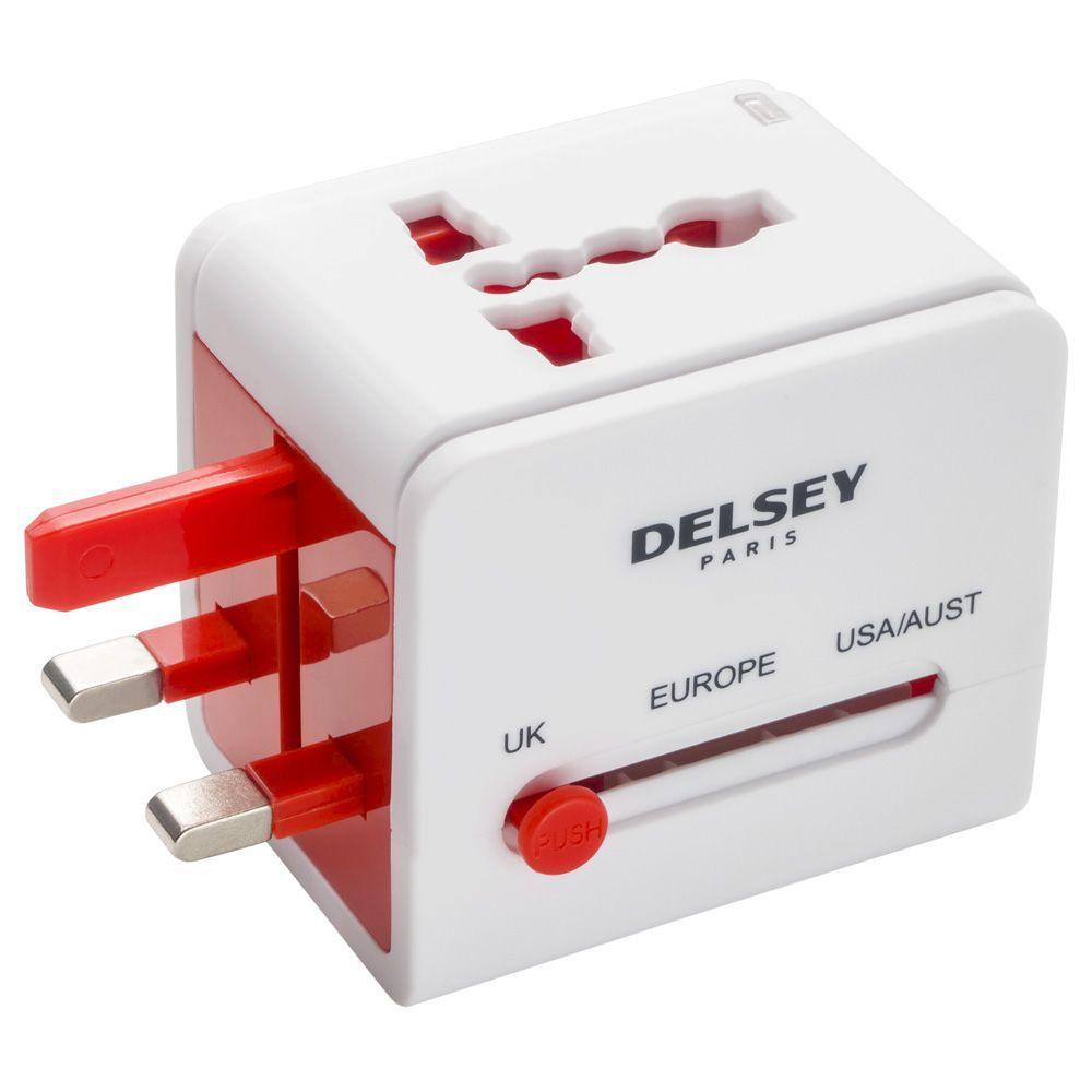 Универсальный адаптер с USB , арт 394051157