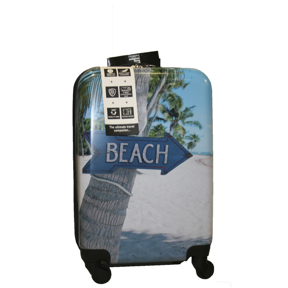 Чемодан V&V Travel 134-55 Beach
