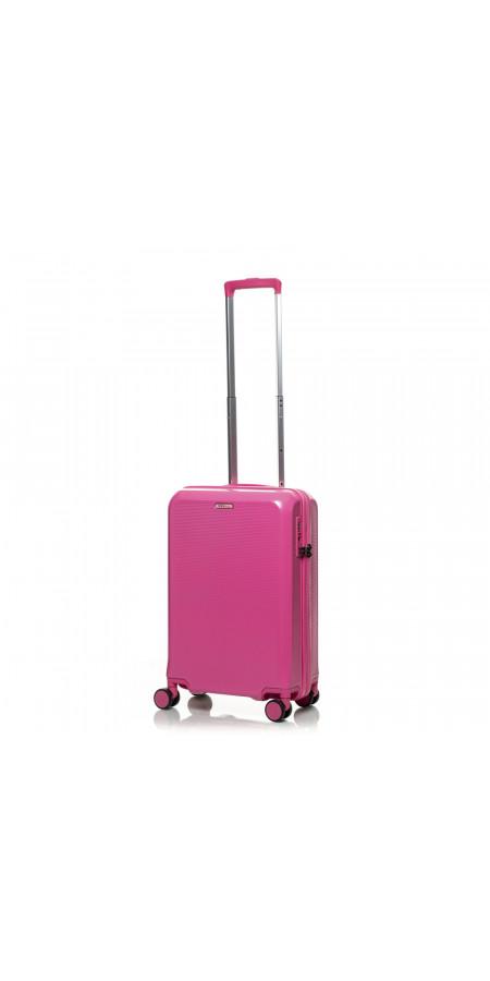 Чемодан V&V Travel PC 023-55 Pink