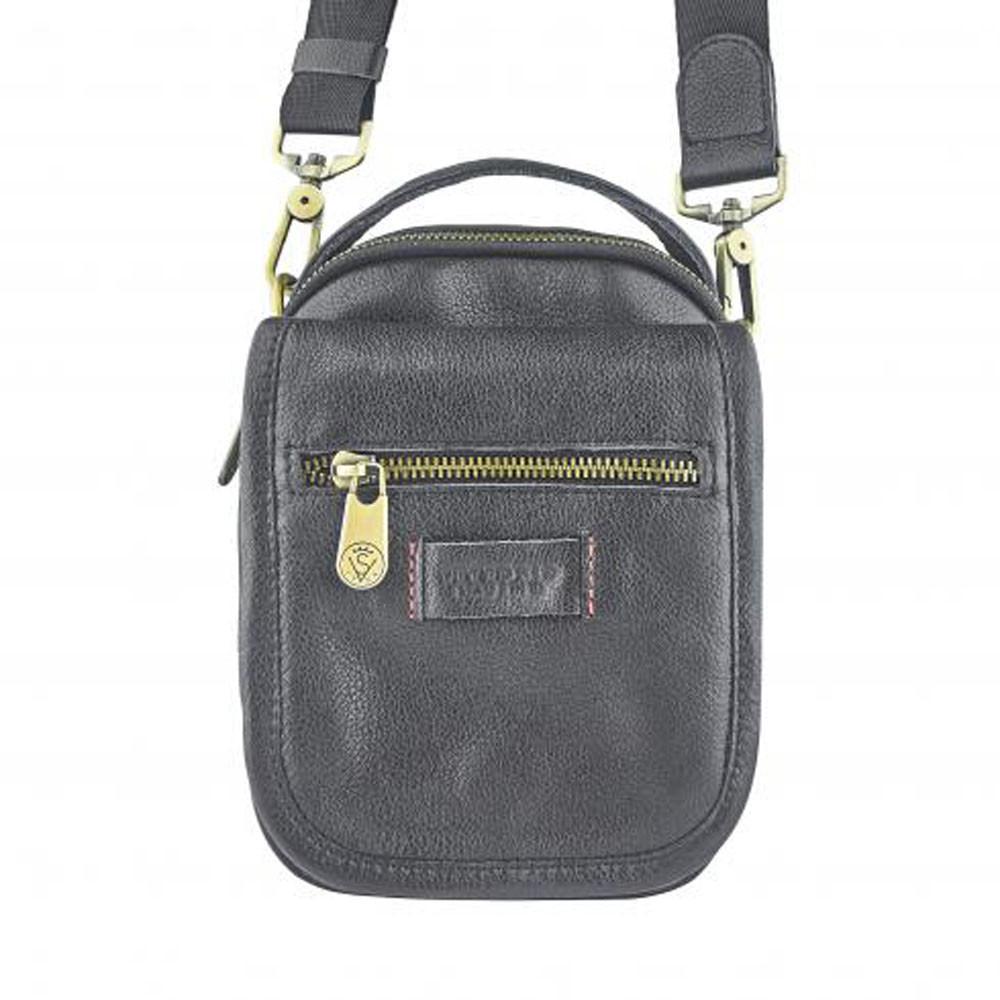 Мужская кожаная сумка VS 047